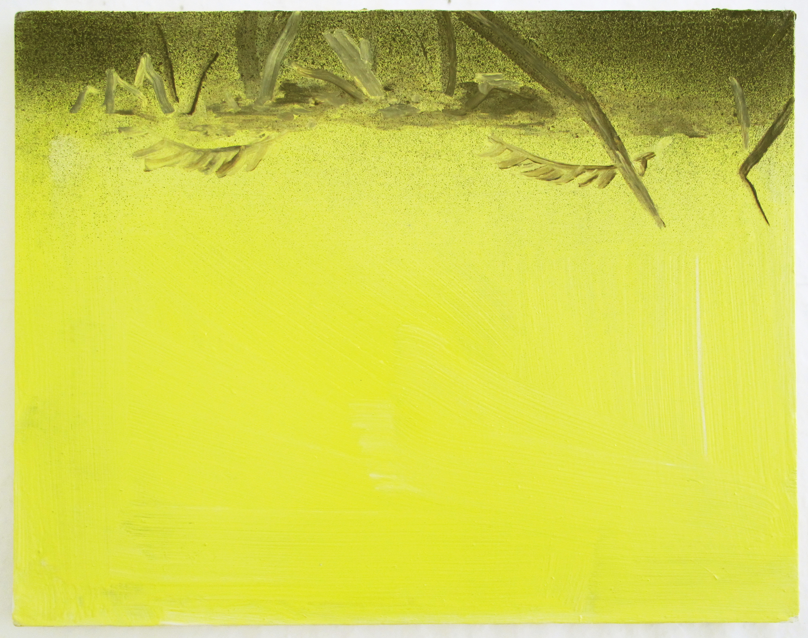 pupils-landscape, oil on canvas, 35 x 45 cm, 2017