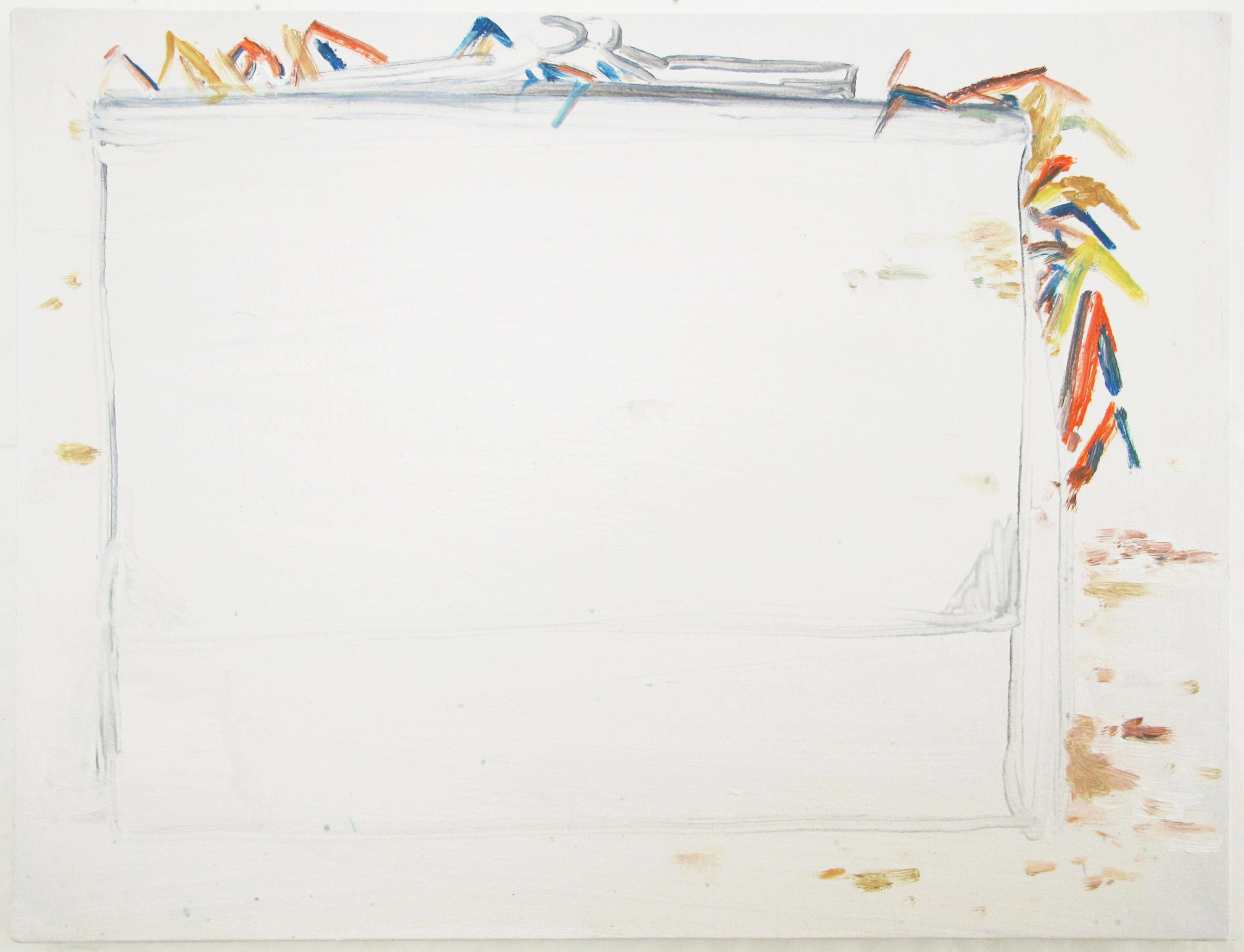 Porte-(no)monnaie, oil on canvas, 35 x 45 cm, 2017