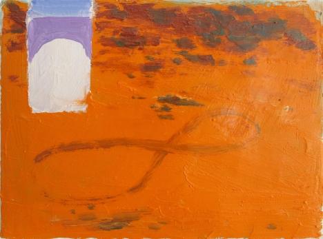 infinite traces, oil on canvas, 18 x 24 cm, 2018