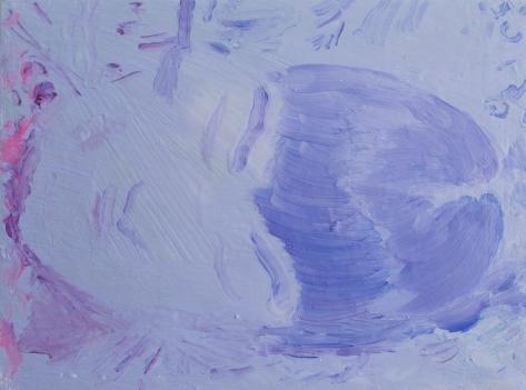 sleep1, oil on canvas, 18 x 24 cm, 2018